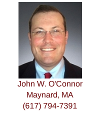 Maynard, MA buyer agent John W. O'Connor