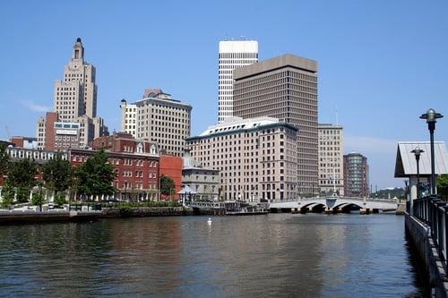 Providence Rhode Island Skyline