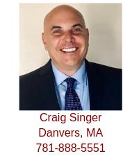 Danvers, MA Real Estate Buyer Agent Craig Singer