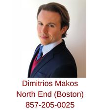 North End real estate buyer agent Dimitrios Makos